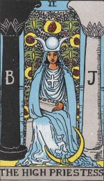 Is your yearly tarot number 2? The High Priestess is your messenger in 2020!