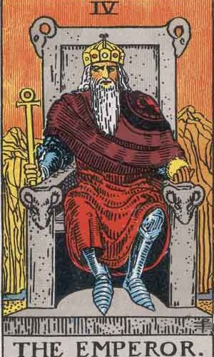 Is your Yearly Tarot Number 4? Read here to find out the message the Emperor has for you.