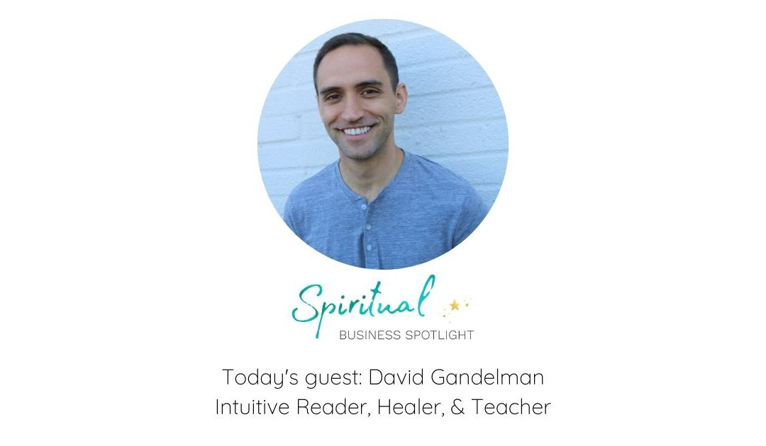 Spiritual Business Spotlight Interviews Intuitive Reader, Healer, and Teacher, David Gandelman