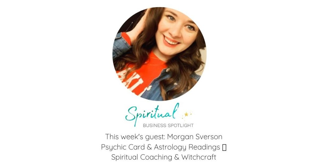 Tarot and Oracle Card Reader and Astrologer, Morgan Sverson Interview