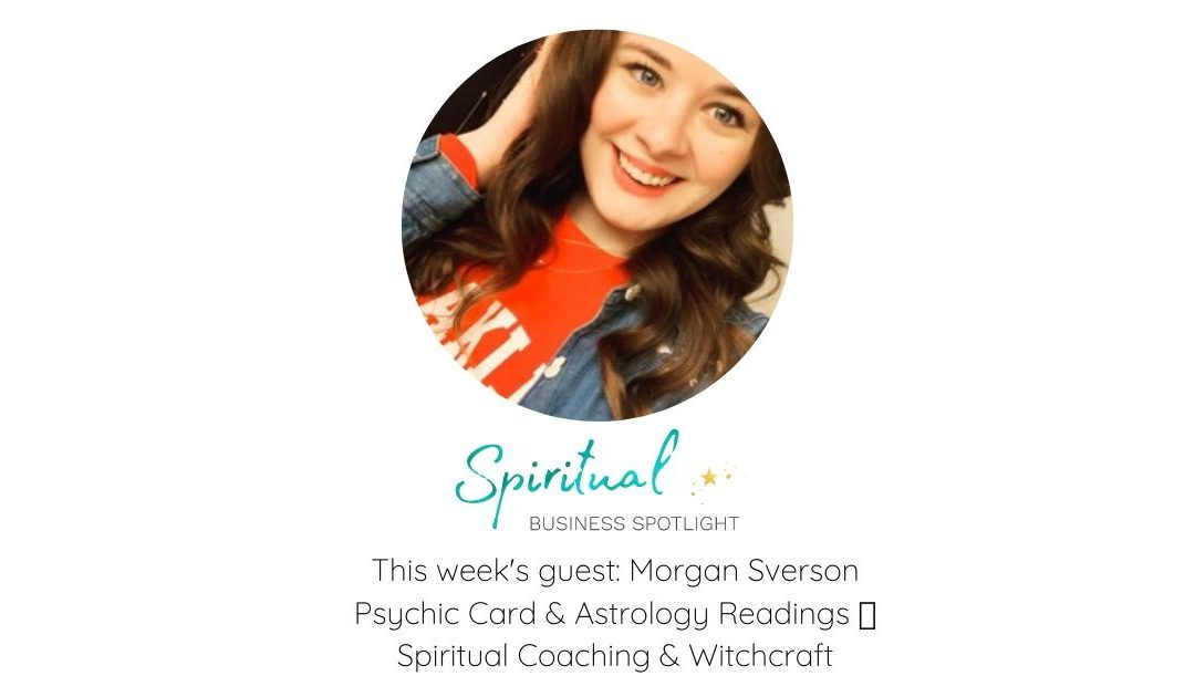 Morgan Sverson, Tarot and Oracle Card Reader and Astrologer, Interview