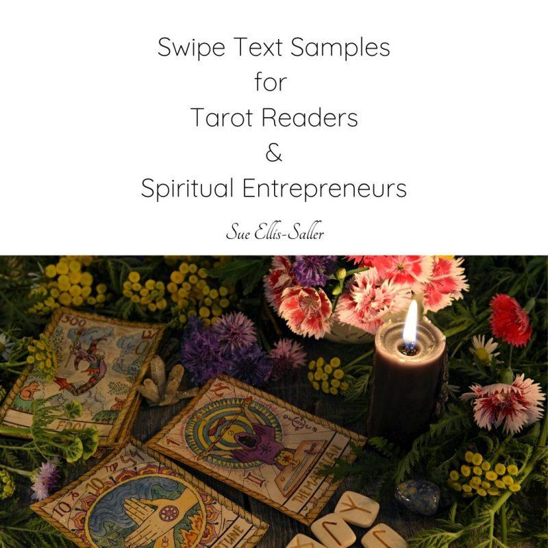 Swipe Text For Tarot Readers and Spiritual Entrepreneurs