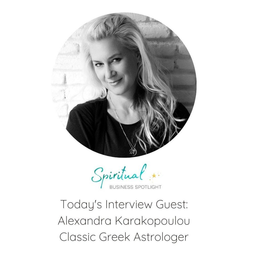 Classic Greek Astrologer, Alexandra Karakopoulou