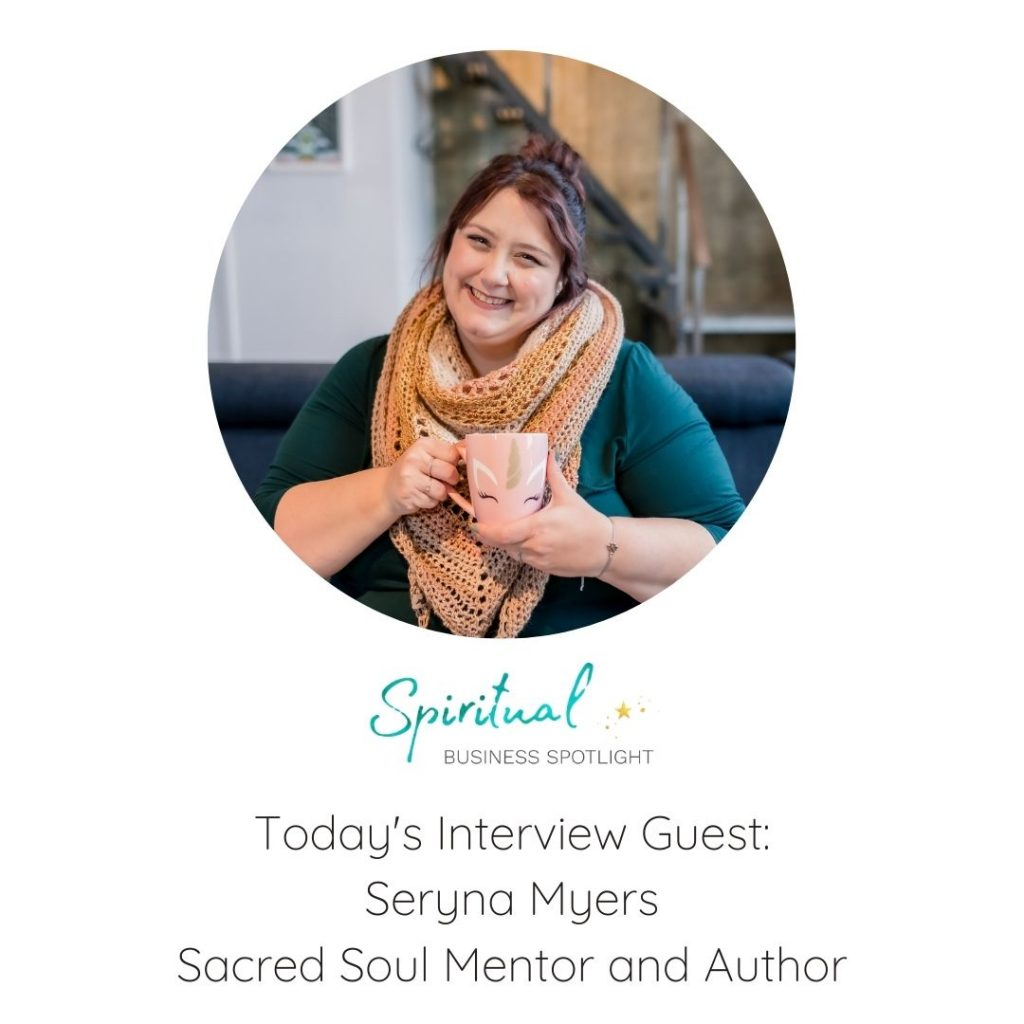 Seryna Myers, Sacred Soul Mentor and Author