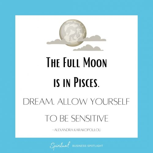 The Full Moon in Pisces